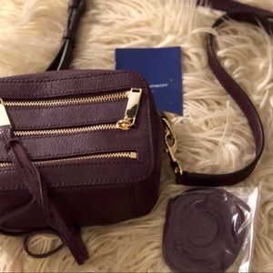 New with tags purple Rebecca Minkoff crossbody